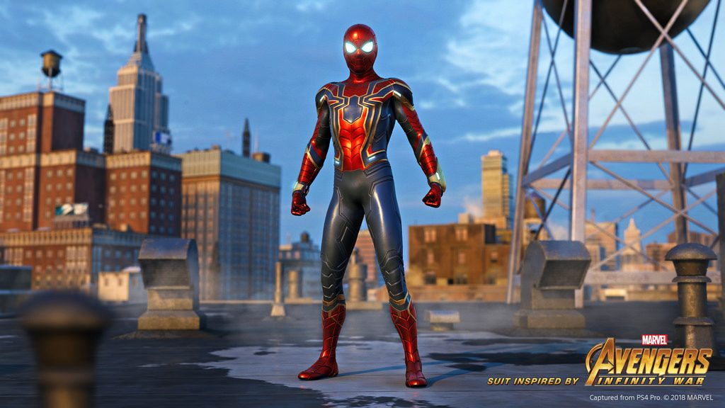 Spider-Man PS4 Iron Spider