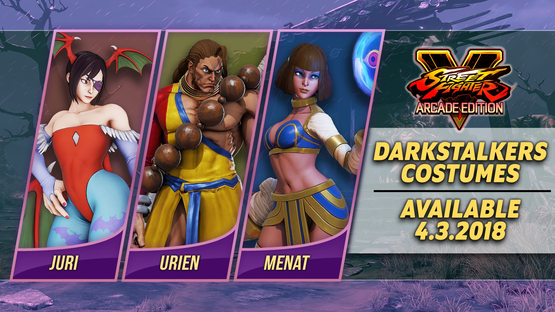 Street Fighter 5 Darkstalkers