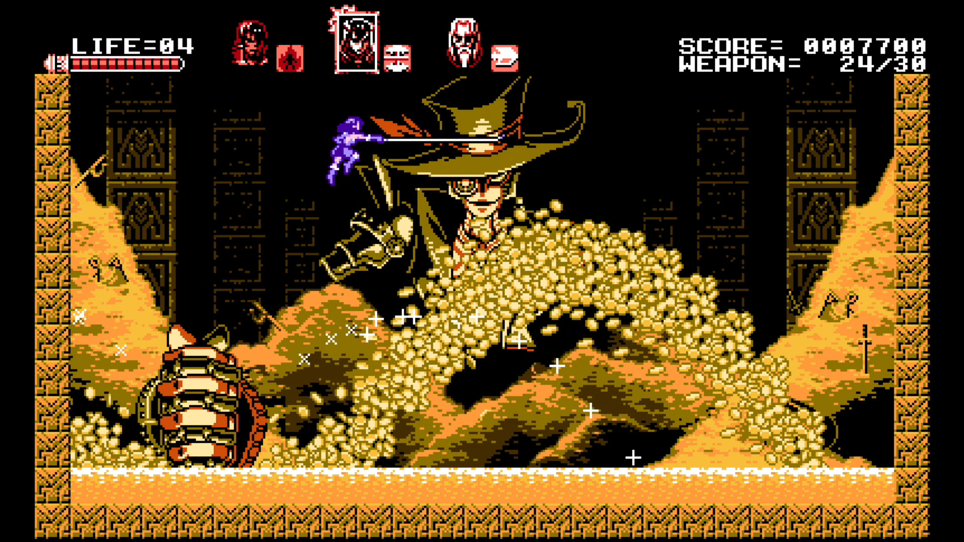 Bloodstained: Curse of the Moon Now Available, 8-Bit Spinoff to