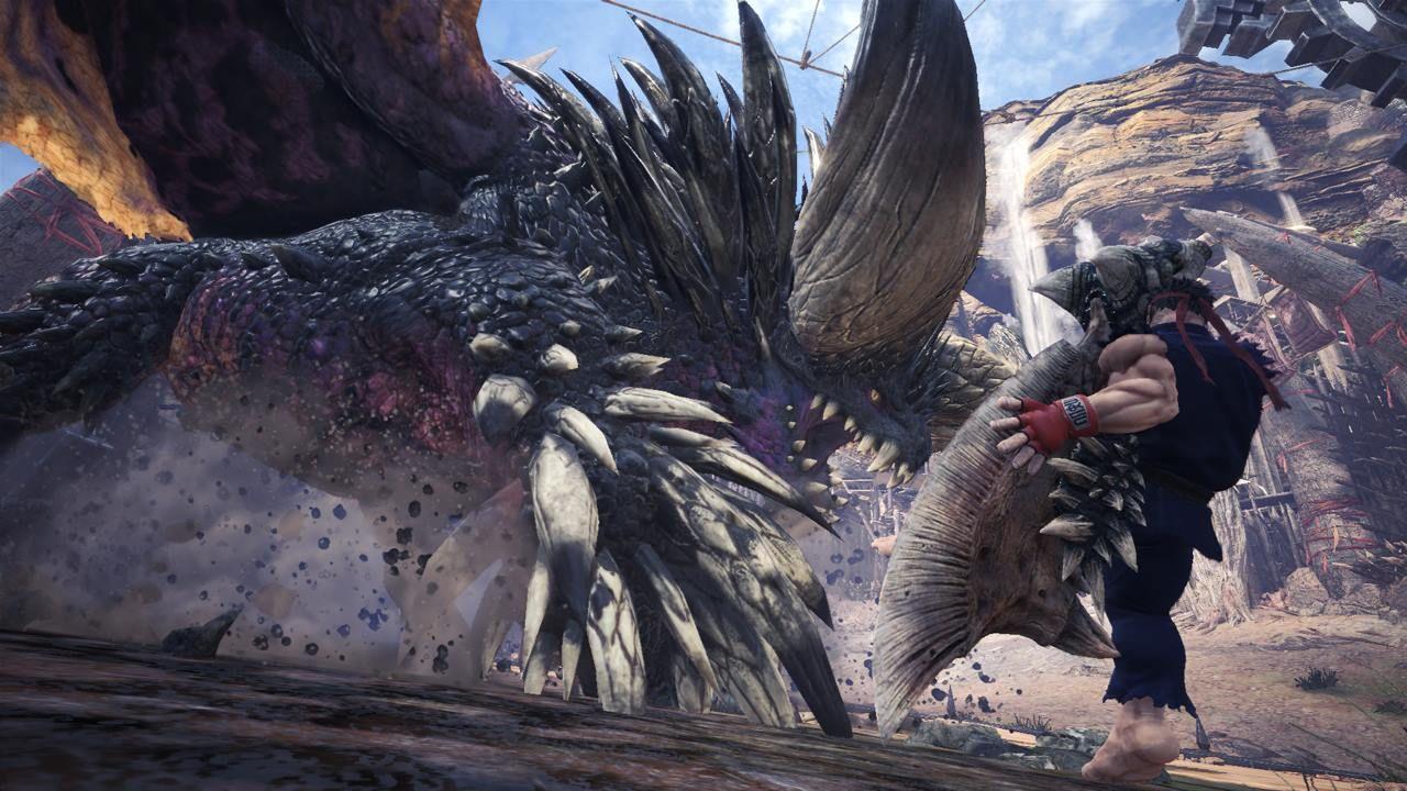 Monster Hunter World Ryu