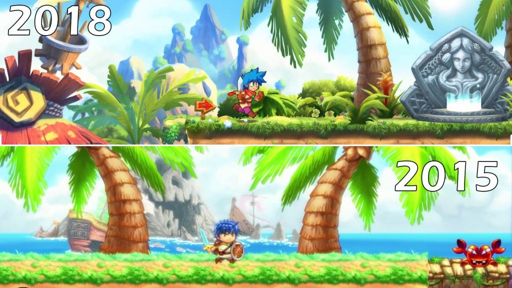 Monster boy comparison