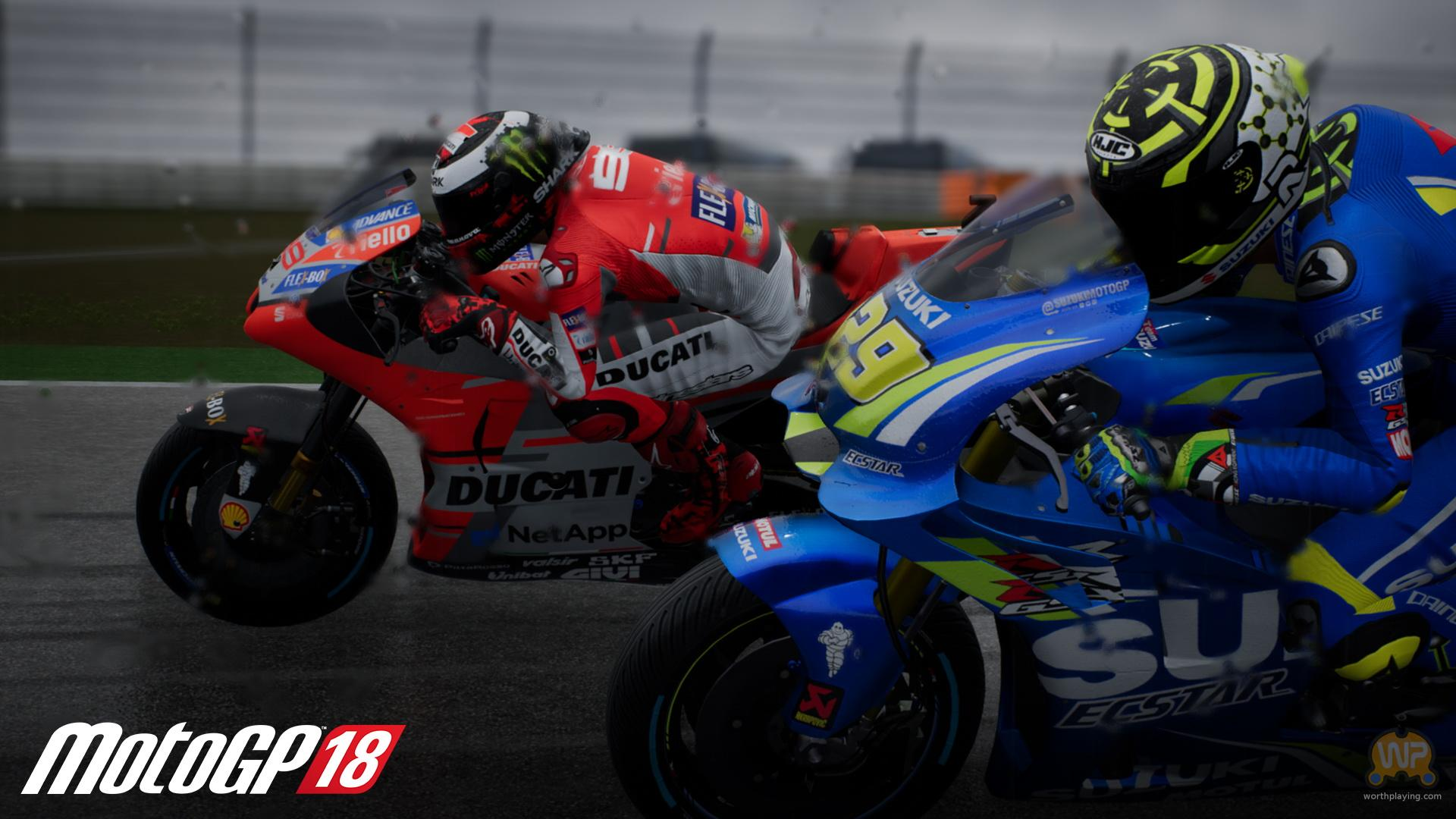 motogp 18 has new screenshots and features trailer to show off. Black Bedroom Furniture Sets. Home Design Ideas
