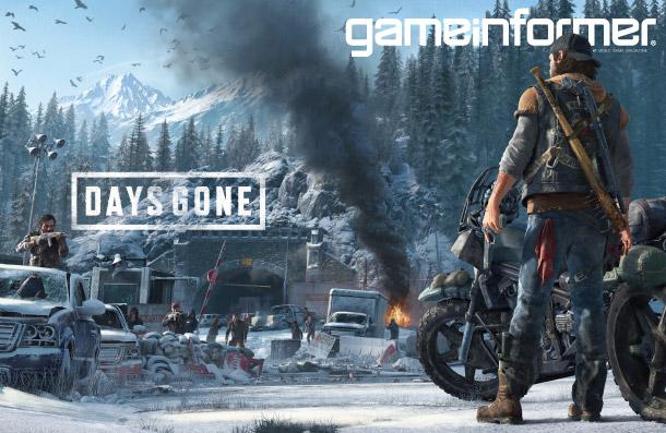 days gone game informer cover