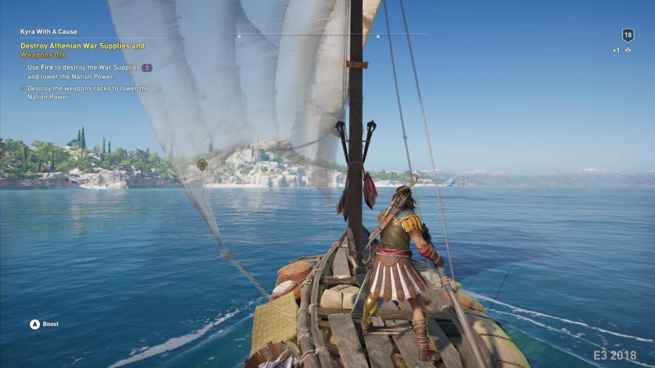 assassins creed odyssey gameplay ps4 pro