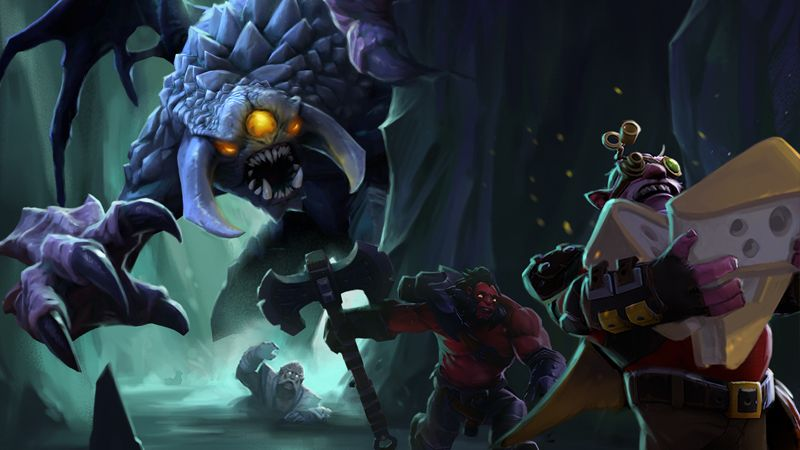 Dota 2 The Underhollow
