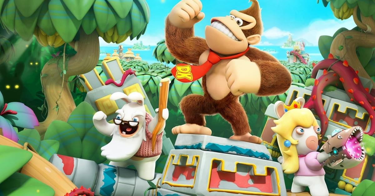 Mario + Rabbids Donkey Kong Adventure