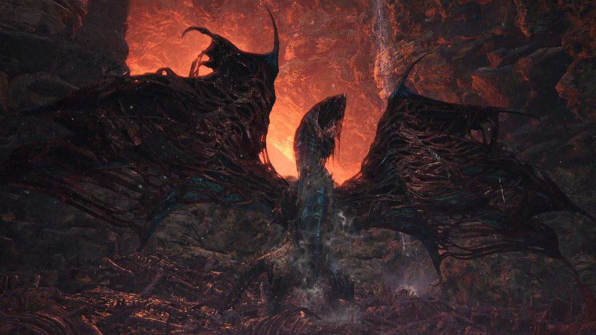 Monster Hunter World Arch Tempered Vaal Hazak