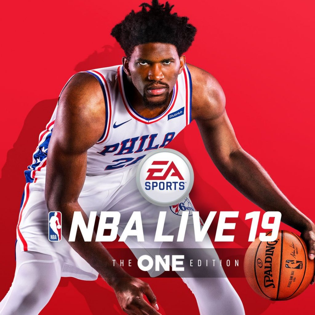 NBA Live 19 cover athlete