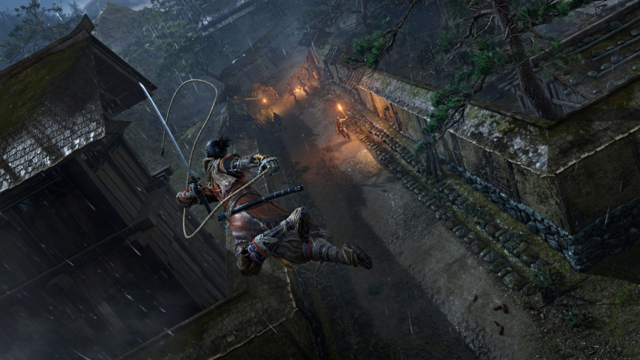 Sekiro Shadows Die Twice Is Similar In Size To Dark Souls 3 Bloodborne