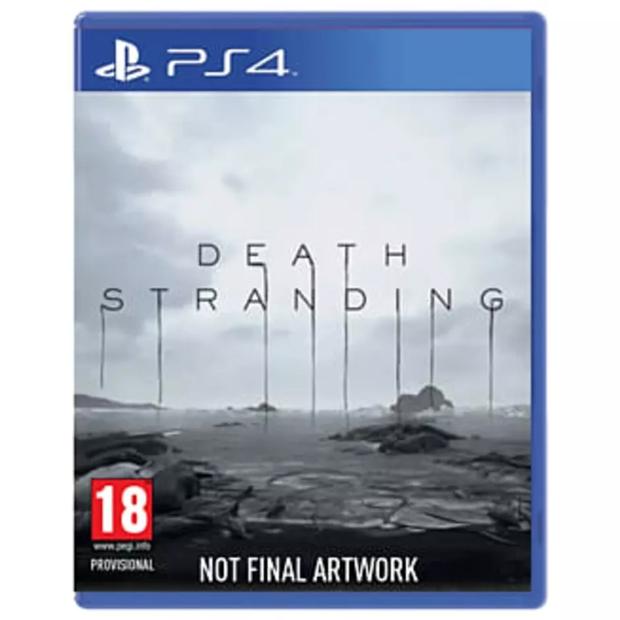 death stranding not final box art