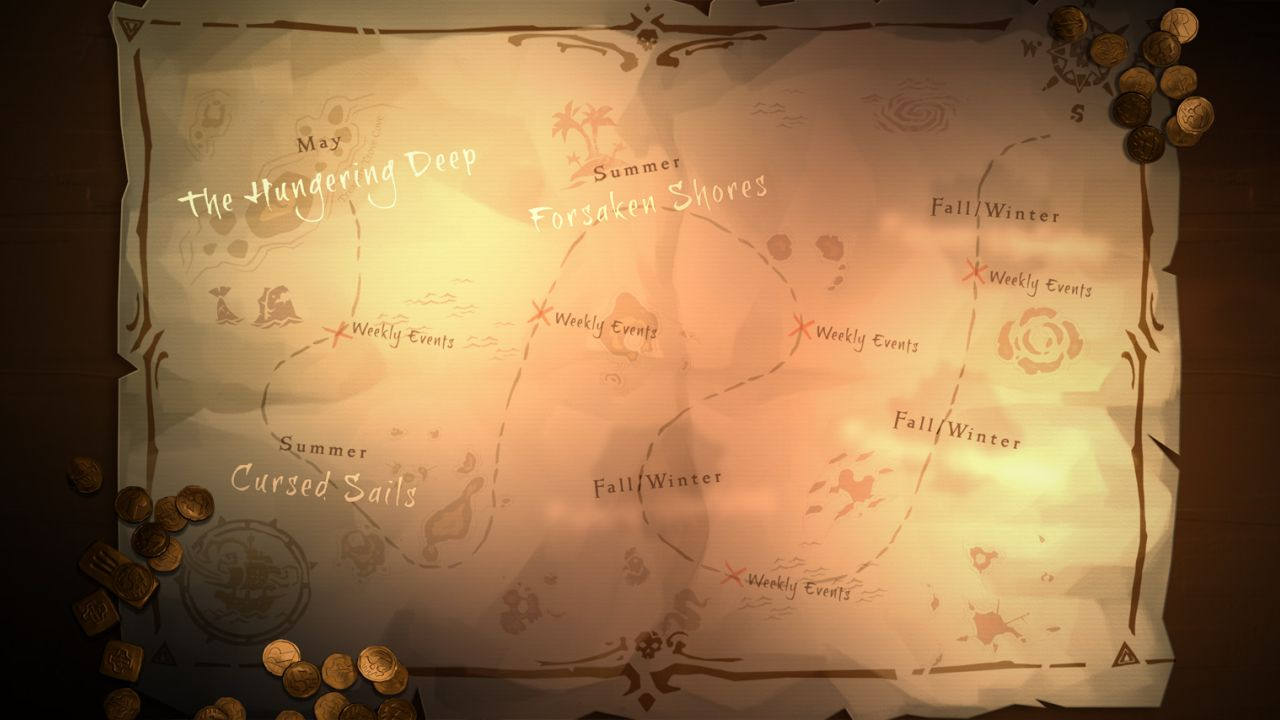 Sea of Thieves roadmap