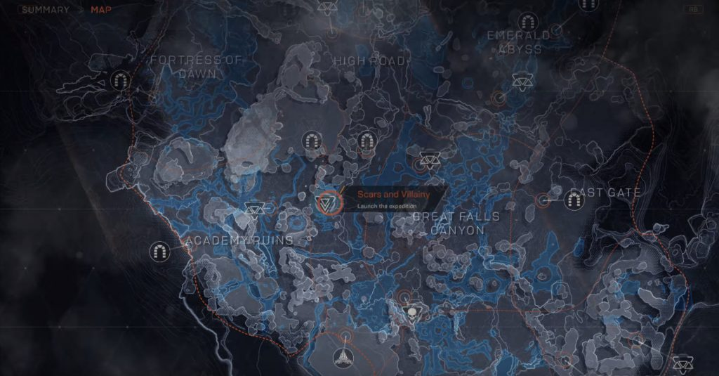 anthem world map