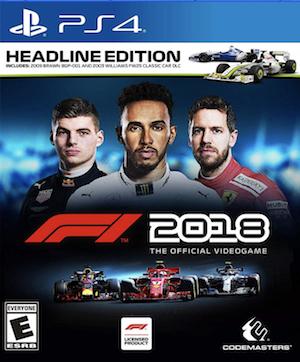 F1 2018 Box Art