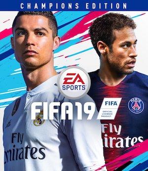 FIFA 19 Box Art