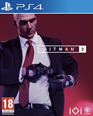 Hitman 2 Box Art