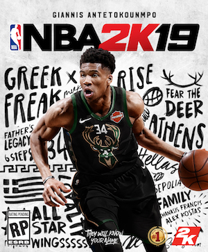 NBA 2K19 Box Art