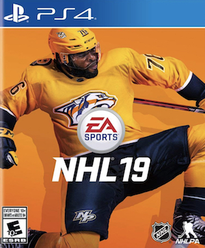NHL 19 Box Art