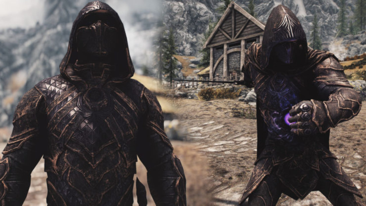Skyrim Special Edition Mod Seriously Shines Up Nightingale Armour