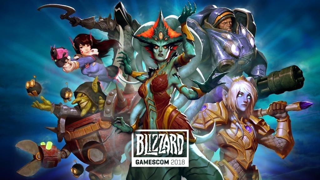 Blizzard Gamescom 2018
