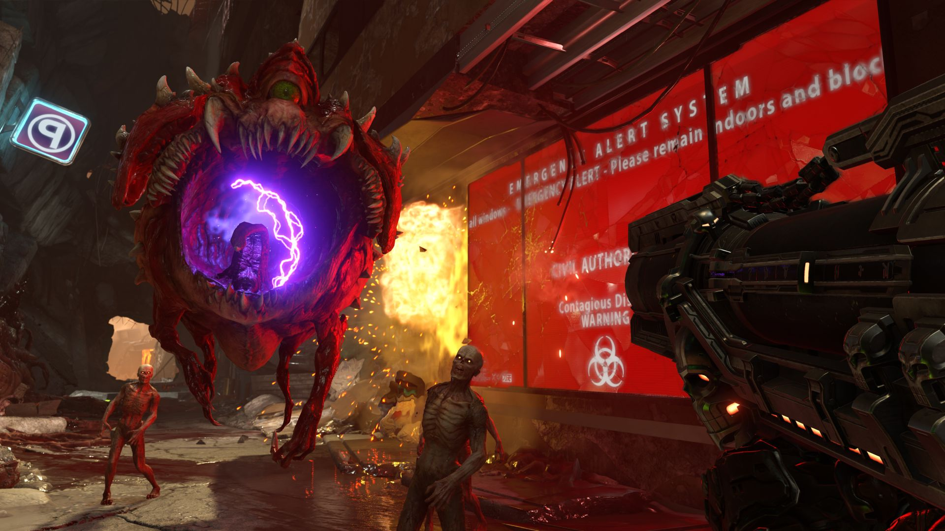Doom Eternal S Super Gore Nest Looks All Kinds Of Cool In New