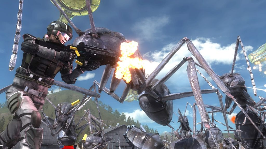 Earth Defense force 5 10