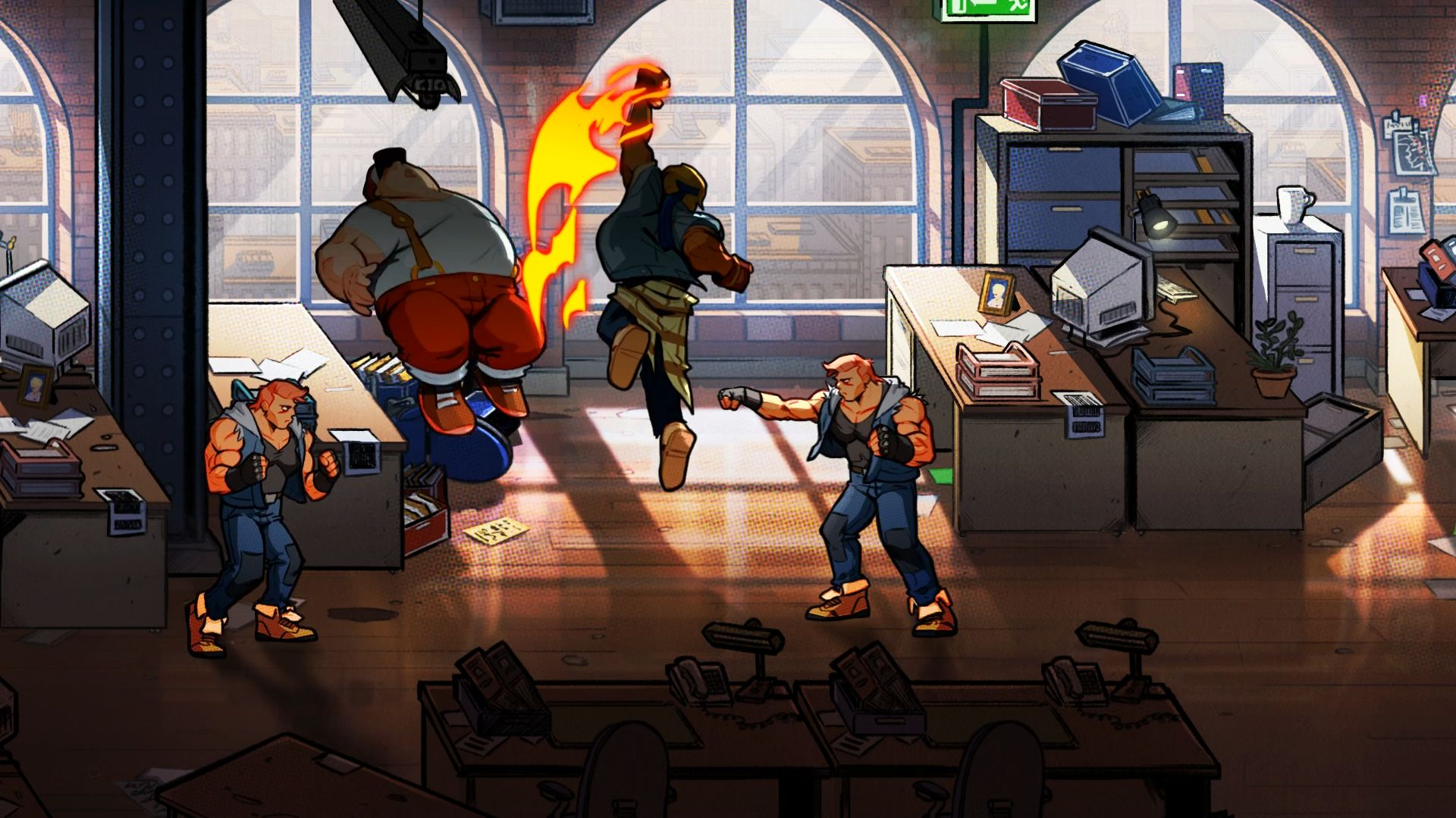 Streets of Rage 4 Announced, Axel and Blaze Return