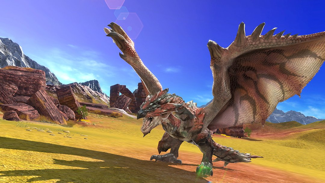 Super Smash Bros Ultimate Rathalos