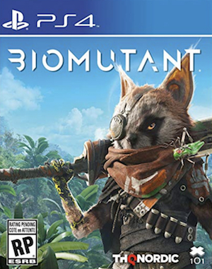 Biomutant Box Art
