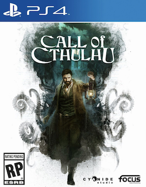 Call of Cthulhu: The Official Video Game Box Art