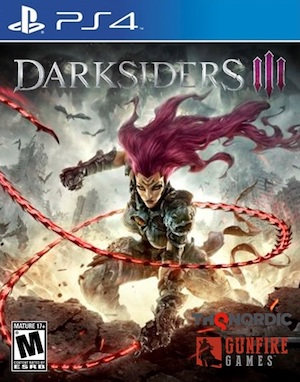 Darksiders 3 Box Art