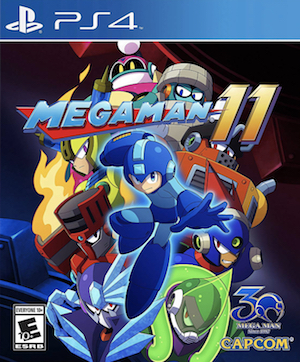 Mega Man 11 Box Art