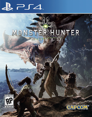 Monster Hunter World Box Art