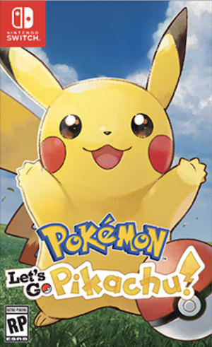 Pokémon: Let's Go, Pikachu! and Let's Go, Eevee! Box Art