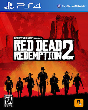 Red Dead Redemption 2 Box Art