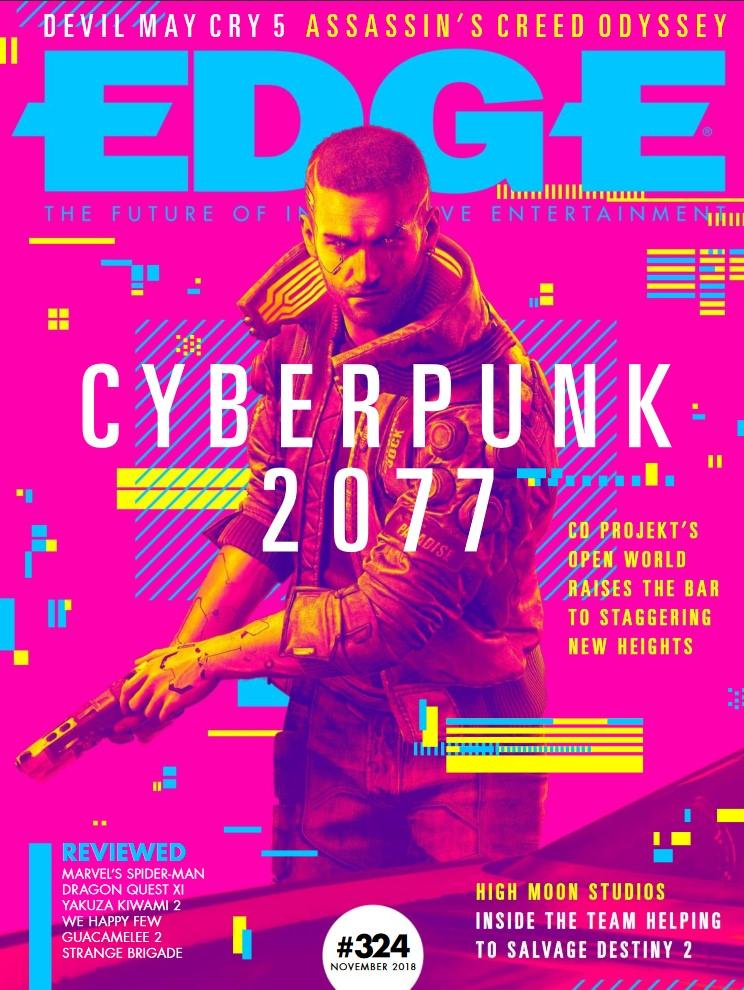 Cyberpunk 2077 EDGE Magazine
