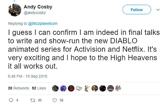 Diablo Netflix series