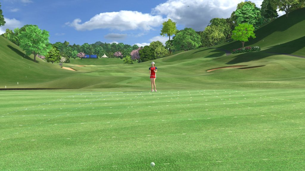 Everybody's Golf VR 8