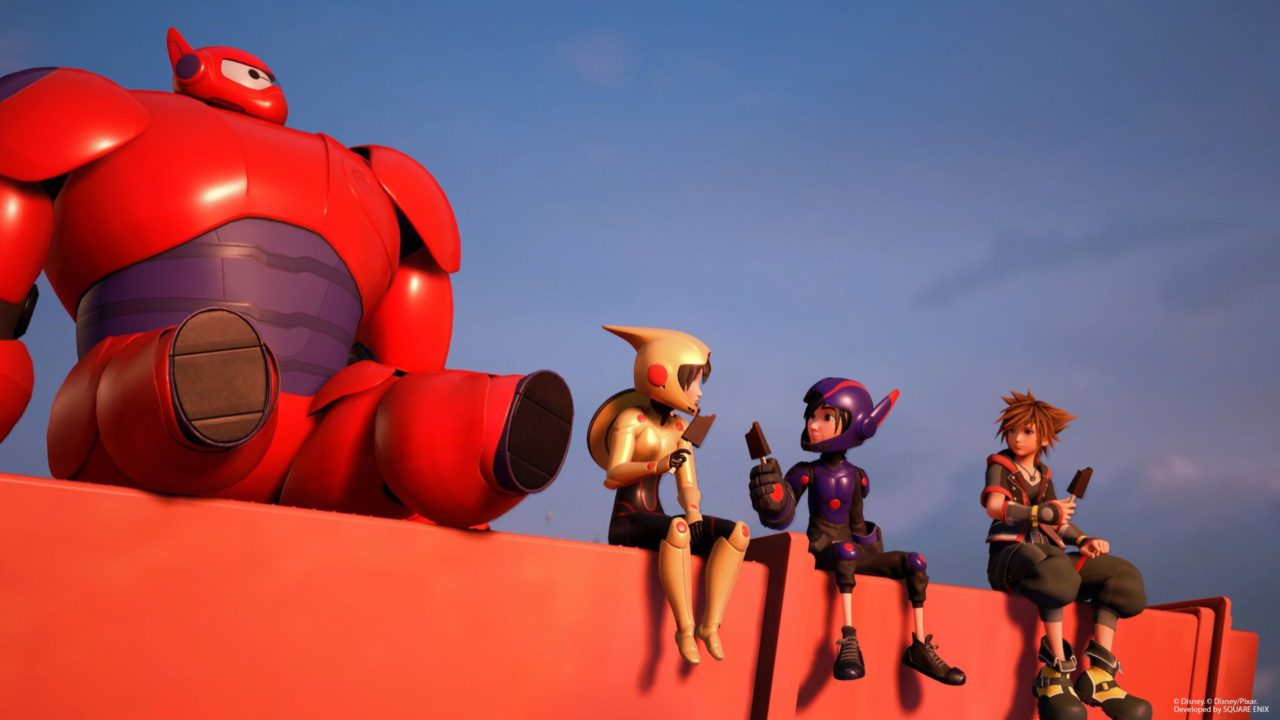 Kingdom Hearts 3 Big Hero 6 Cast To Reprise Their Roles