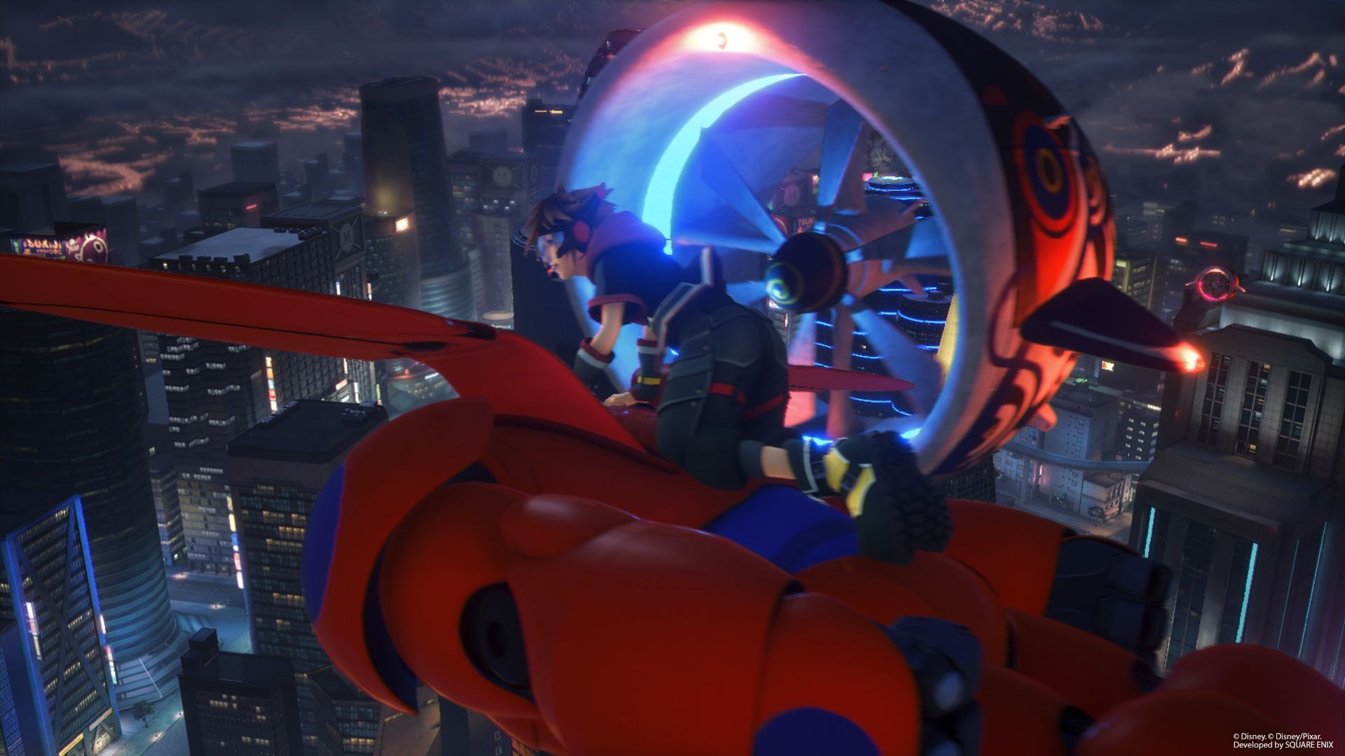 Kingdom Hearts 3 Gets New Big Hero 6 Screenshots And Character Art