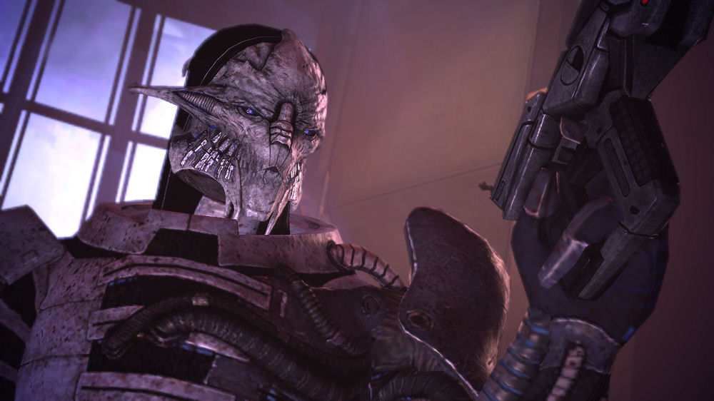 Mass Effect Saren