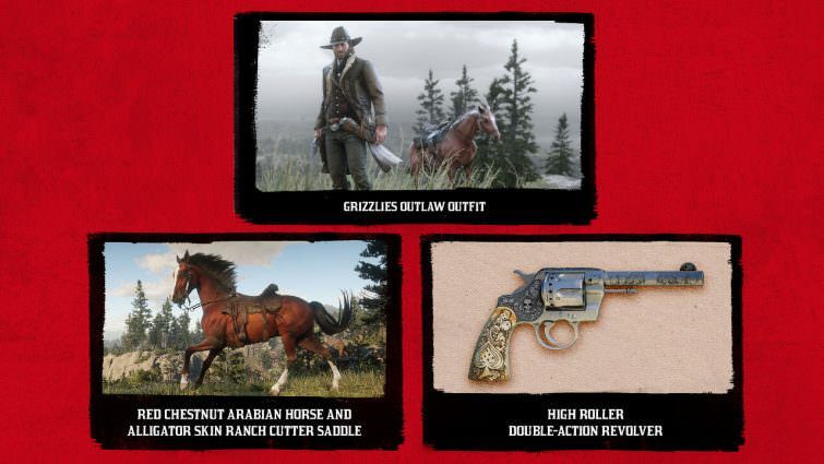 Red Dead Redemption 2 PS4 content