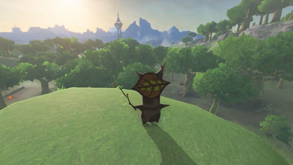 The Legend of Zelda Breath of the Wild_Korok