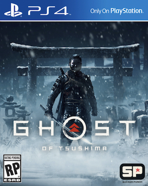 Ghost of Tsushima Box Art
