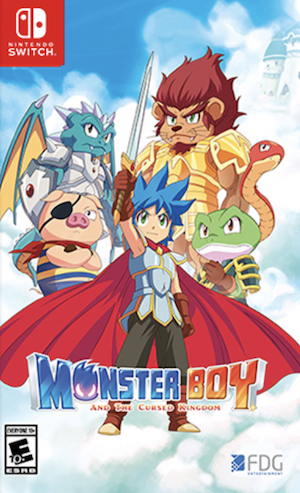 Monster Boy and the Cursed Kingdom Box Art