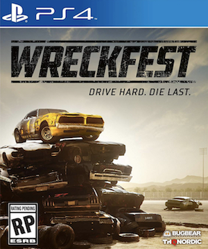 Wreckfest Box Art