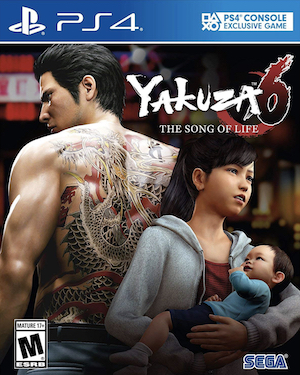 Yakuza 6: The Song of Life Box Art
