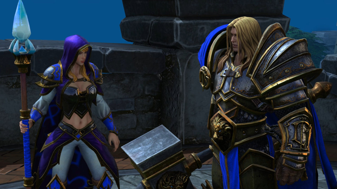 Warcraft 3 Reforged Features Modified Campaign Maps Re Recorded Vo