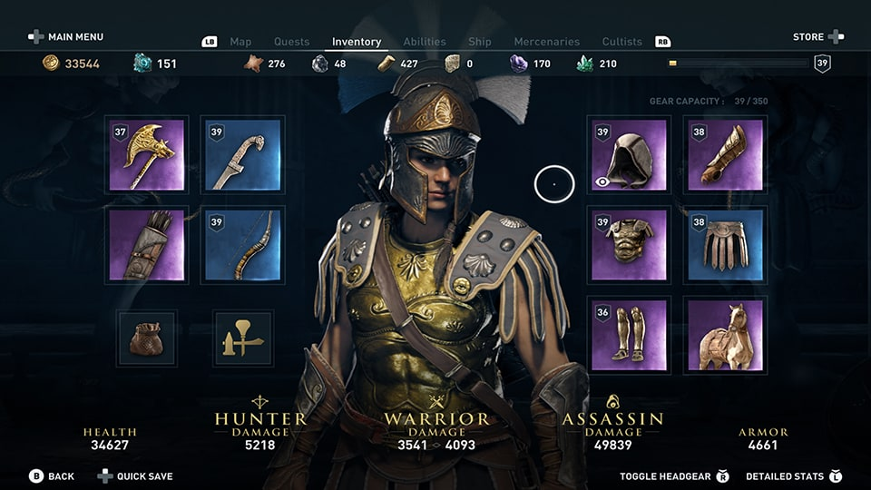 Assassin's Creed Odyssey visual customization