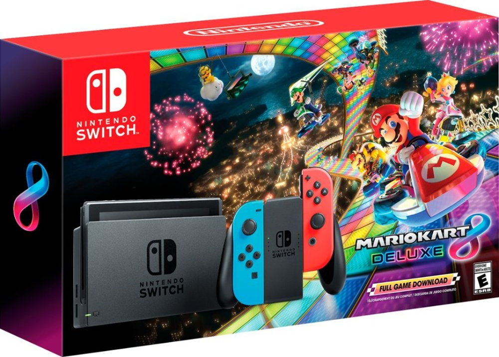 Mario Kart 8 Deluxe Nintendo Switch Bundle