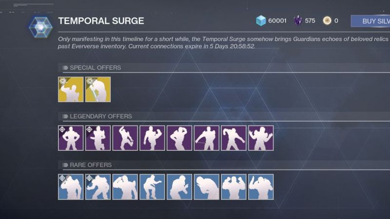 Destiny 2 Temporal Surge